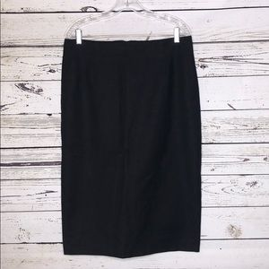 Boden NWT 12L Black 'Richmond' Pencil Skirt